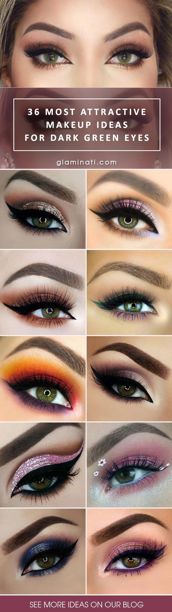 green eye makeup for dark skin | saubhaya makeup